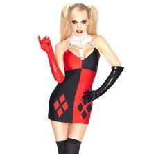 Secret Wishes Super Villain Harley Quinn Dress Batman Costume - Small/Petite