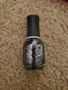 Orly Nail Lacquer Atomic Splash (silver with purple hue glitter)
