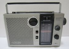 Vintage Sanyo Radio RP 6260 AM/FM 2 Band Receiver Works Made in Japan