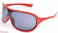 Oakley Women's Sunglasses Immerse OO9131-04 Red Mask Gray Lens