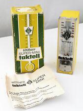 More details for vintage mechanical wittner taktell metronome (super mini model 888051)