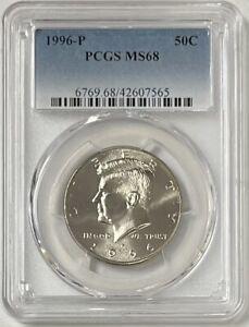 1996 P Kennedy Half Dollar PCGS MS68