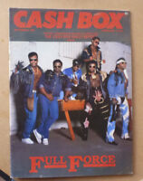 1987 CASHBOX MUSIC MAGAZINE FEATURING FULL FORCE