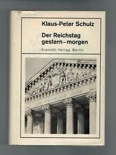 Klaus-Peter Schulz - Der Reichstag gestern-morgen - 1969
