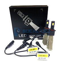 Fanless LED Headlight Kit H10 6000K White Canbus Conversion Fog Light Bulbs 12V