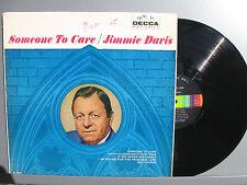 Gov. Jimmie Davis SOMEONE TO CARE vinyl LP Decca DL 4037 M-