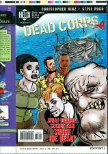Dead Corps 3 COVER PROOF Zombie Corpse Production Art DC HELIX 1998 Walking Dead