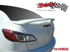 MAZDA 3 SEDAN 2008 - 2014 REAR BOOT TRUNK SPOILER WING