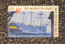 1973US   #1481  8c Boston Tea Party - British Threemaster  Mint NH VF
