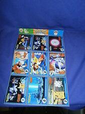 Vintage Pokemon Master Trainer Uncut Card Set No. 15 by Burger King 1999