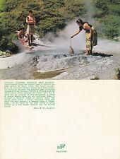 1970's THERMAL COOKING ROTORUA NEW ZEALAND UNUSED COLOUR POSTCARD