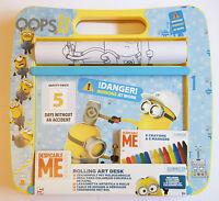 Despicable Me Minions Rolling Art Desk / Colouring Book