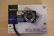 Sony Cyber-shot DSC-WX1 10.2 MP Digital Camera - Black
