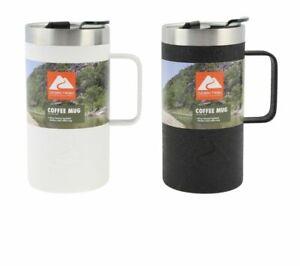 Ozark Trail Coffee Mug Set 20 oz Stainless Steel Travel Mugs Vacuum Insulated