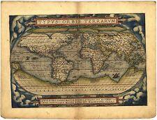 1570 Theatrum Orbis Terrarum Worlds First Atlas antique Abraham Ortelius map Dvd