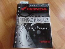 2004 2005 2006 2007 2008 2009 2010 2011-2013 HONDA TRX450R/ER Service Manual OEM