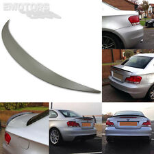 118d 120i 123d 125i ABS BMW E82 1 SERIES PERFORMANCE REAR TRUNK SPOILER 2013