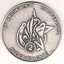 LEGION   2°RE   (  GOLE  )   5°CIE   CORSE   fond de coupelle bronze argenté
