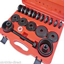 23Pc Juego De Cojinete Rueda Extracción & Instalación Kit de herramientas universal impulsión de rueda delantera