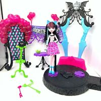 Monster High Dance The Fright Away Playset W/ Draculaura Doll Working Lights VGC