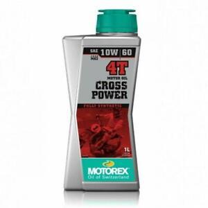 M308242 FLACONE 1 LITRO OLIO MOTORE MOTOREX CROSS POWER 4T SAE 10W60