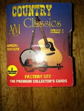 Country Classics Series 1 Collector's Cards 100 cards in set