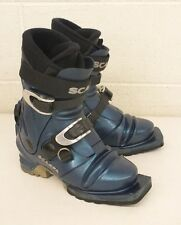 Scarpa T2 3-Pin 75mm Nordic Norm Telemark Ski Boots US Women's 4.5 Fast Shipping