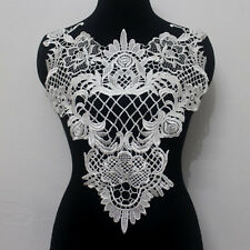 1Piece Off White Venise/Venice Collar Neck Lace Appliques Motifs Sew On Lh36
