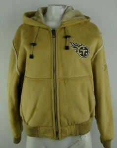 Tennessee Titans NFL Women's Wheat Fur-Lined Full-Zip Jacket