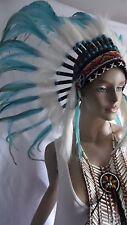 Federhaube, B-ware, War Bonnet Indianer Kopfschmuck Fasching Winnetou B-Ware