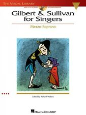Gilbert & Sullivan for Singers The Vocal Library Mezzo-Soprano Vocal C 000740215