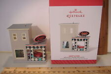 ~ANDY'S CARS~31ST IN THE NOSTALGIC HOUSES & SHOPS SERIES~2014 HALLMARK ORNAMENT~
