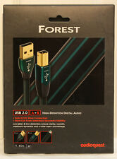 Audioquest Forest USB cable. USB A to B. 1.5m. NEW