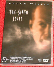 DVD The Sixth Sense / Bruce Willis / (M)15+ / Reg 4 PAL