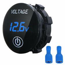 Dc 5v 48v Waterproof Touch Led Panel Digital Volt Meter Display Car Motorbike