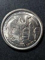 Western Sahara 1992 5 pesetas  copper-nickel  21.5mm circulated coin...