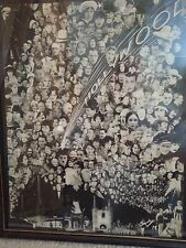1920's HOLLYWOOD MOVIE STARS PHOTOGRAPH POSTER