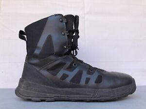 """DANNER Dromos 8"""" Black Sz 10.5 D Mens Tactical Leather Lace-Up Boots 21382"""