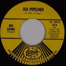 RED SOVINE: Old Pipeliner STARDAY 672 60s Country Rockabilly 45 HEAR