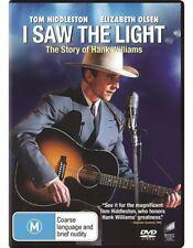 I Saw The Light (Dvd) Drama, Music, Biography Tom Hiddleston, Elizabeth Olsen