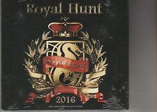 2016 [Deluxe Edition] [Digipak] Royal Hunt 2 Cd's + Dvd