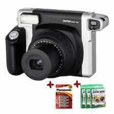 Bundle Fuji Instax 300 Instant Camera + 70 Wide Film+ Batteries