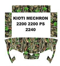 KIOTI MECHRON camo graphics wrap DECALS camouflage UTV SIDE X 200 PS 2240 kit 3