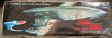 More details for startrek1991the next generation uss enterprise ncc-1701 73x26 wall poster 30yr