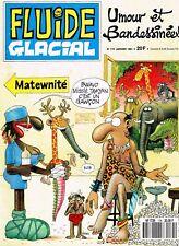 REVUE  FLUIDE GLACIAL  N° 175  DE  JANVIER 1991. Humour réservé aux+++de 17 ans.