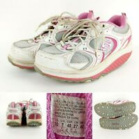 Skechers Shape-Ups Pink Breast Cancer Awareness Walking Shoes Women's Size 10