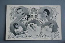 R&L Postcard: Italian Royal Family Early 20th Century