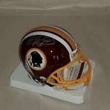 Lorenzo Alexander Signed Washington Redskins Mini Helmet JSA WITNESS