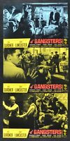 Fotobusta The Gangsters Burt Lancaster Ava Gardner The Killers H139