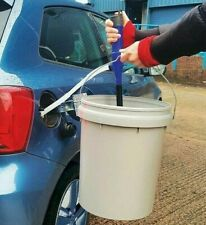 Fuel Water & Solvents Battery Operated Syphon Liquid Remover Drain Transfer Pump